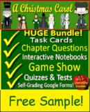 A Christmas Carol Novel Study - Free Quiz!