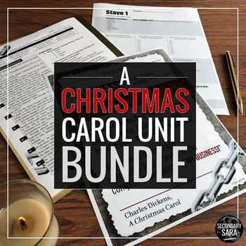 A Christmas Carol: Unit Bundle with Random Acts of Kindness