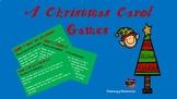 A Christmas Carol Fun Games