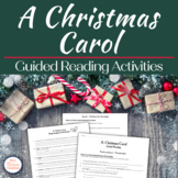 A Christmas Carol - Building Background Knowledge & Guided Reading Packet