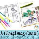 A Christmas Carol Interactive Notebook Activities