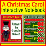 A Christmas Carol Interactive Notebook - Paperless for Google Classroom
