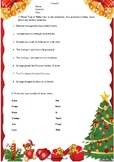 A Christmas Carol - Intermediate Worksheet