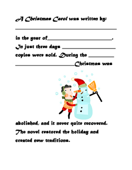 A Christmas Carol Introduction