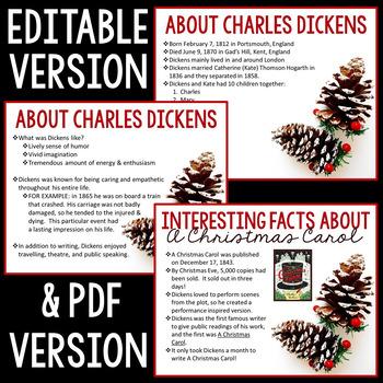 A Christmas Carol Introduction: Introductory Presentation