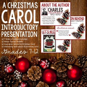 A Christmas Carol Introduction: Introductory Presentation