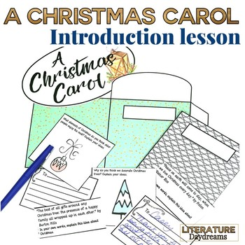 Christmas Carol Meaning.A Christmas Carol Introduction Lesson