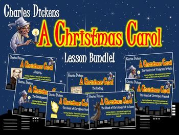 A Christmas Carol: Lesson Bundle!