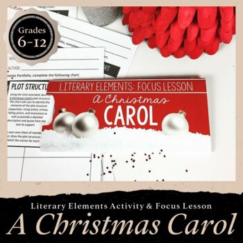 A Christmas Carol Literary Elements Focus Lesson