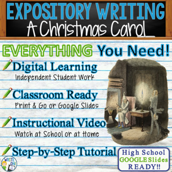 A Christmas Carol by Charles Dickens  Text Dependent Analysis Expository Writing