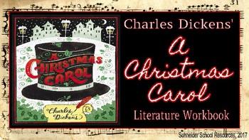 A Christmas Carol: Literature Workbook