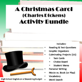 A Christmas Carol Activity Bundle (Charles Dickens)- Word