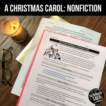 A Christmas Carol: Non-Fiction Reading Activity