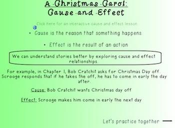 A Christmas Carol: Novel Study Smart Notebook