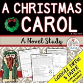 A Christmas Carol Novel Study Unit: comprehension, vocabulary, activities, tests