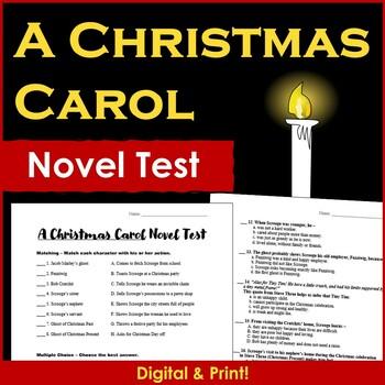 A Christmas Carol Novel Test