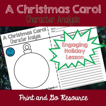 A Christmas Carol Ornament Character Analysis