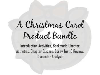 A Christmas Carol Product Bundle