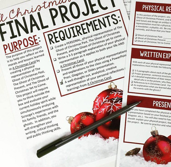 A Christmas Carol Project: Final Assessment