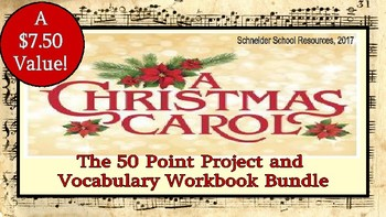 A Christmas Carol: Project and Workbook Bundle