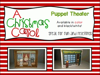 A Christmas Carol Puppet Theater