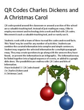 A Christmas Carol: QR Codes