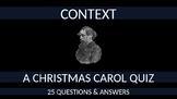 A Christmas Carol Quiz