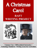 A Christmas Carol RAFT Writing Project