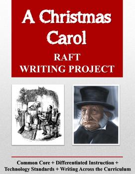 A Christmas Carol RAFT Writing Project
