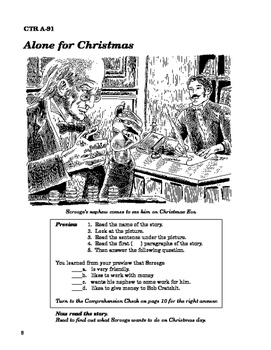 A Christmas Carol 10 Chapter Reader