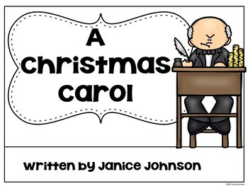 A Christmas Carol Reader ~ Simplified for Young Learners