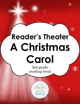 A Christmas Carol Reader's Theater, Discussion Questions and Test (3rd grade RL)