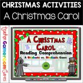A Christmas Carol Reading Comprehension Powepoint Game