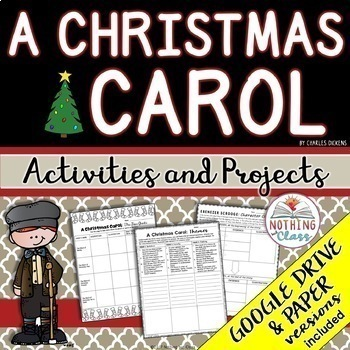 A christmas carol reading response activities and projects tpt a christmas carol reading response activities and projects fandeluxe Choice Image