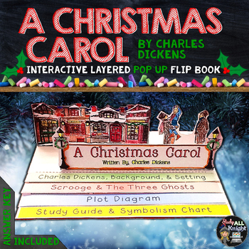 When Was A Christmas Carol Written.A Christmas Carol Literature Guide Reading Writing Pop Up Flip Book