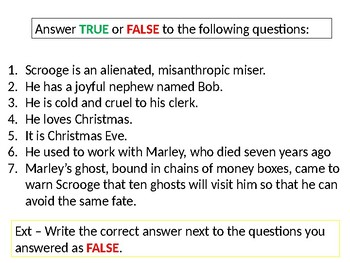 A Christmas Carol Quiz Questions And Answers.A Christmas Carol Revision By Angelica Boots Teachers Pay Teachers