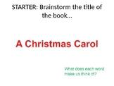 A Christmas Carol Scheme of Work Fully Resourced English L