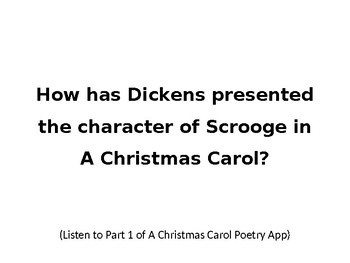 A Christmas Carol - Scrooge