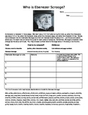 A Christmas Carol Scrooge Character Trait citing evidence H.O.T. organizer