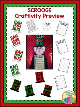 A Christmas Carol: Scrooge Craftivity