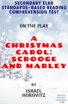 A Christmas Carol: Scrooge and Marley Play by Israel Horovitz Reading Test