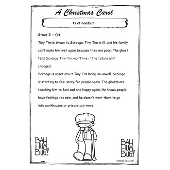A Christmas Carol Adapted Stave 3 Google Slides Pdf By Nessa S Lessons