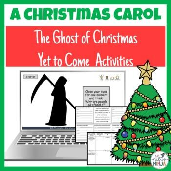 A Christmas Carol The Ghost of Christmas Yet to Come by The Nifty Ninja
