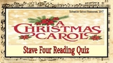A Christmas Carol: Stave Four Reading Quiz