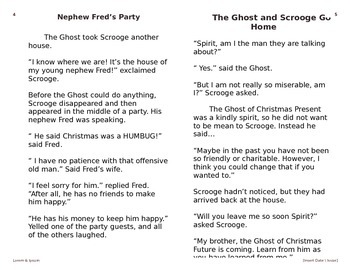 A Christmas Carol Stave III for ESL/ELL Students