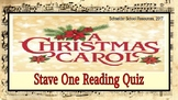 A Christmas Carol: Stave One Reading Quiz