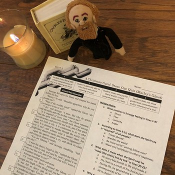 A Christmas Carol: Stave Quizzes with Text-Dependent Questions   TpT