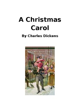 A Christmas Carol Story with Questions