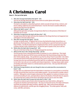 A Christmas Carol Study Guides and Reading Quizzes
