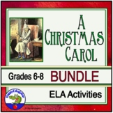 A Christmas Carol Bundle of Support Materials